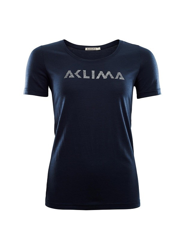 ACLIMA Lightwool Logo t-shirt dame