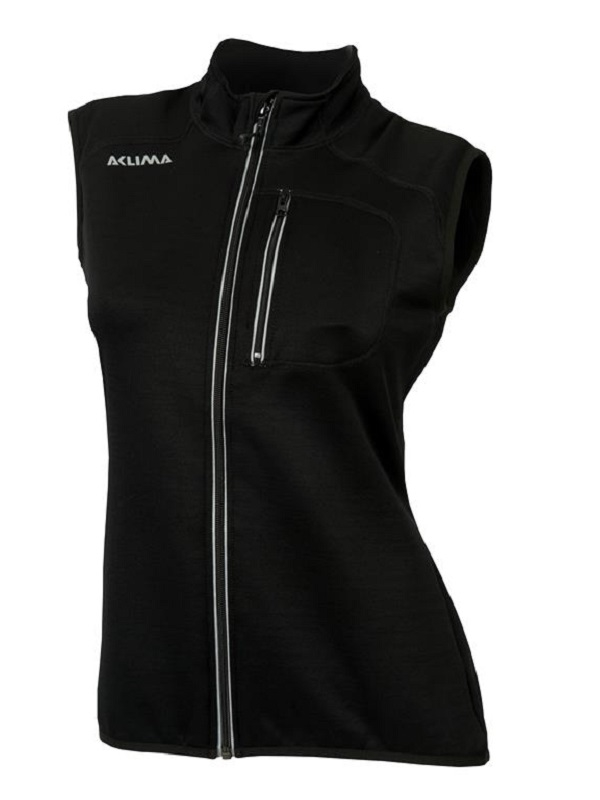 ACLIMA Woolshell vest dame